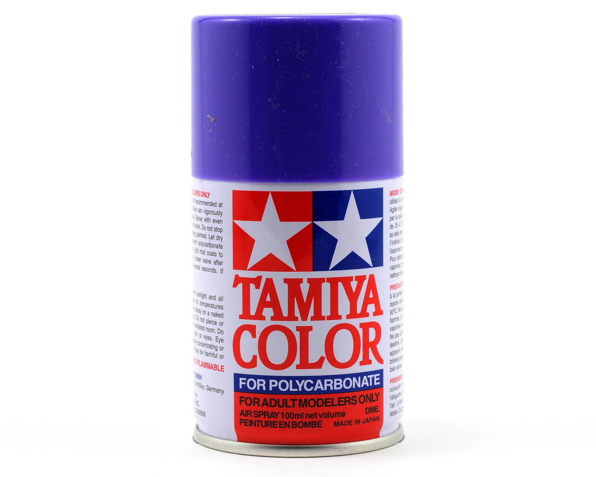 Tamiya PS-10 Purple Lexan Spray Paint (100ml) TAM86010