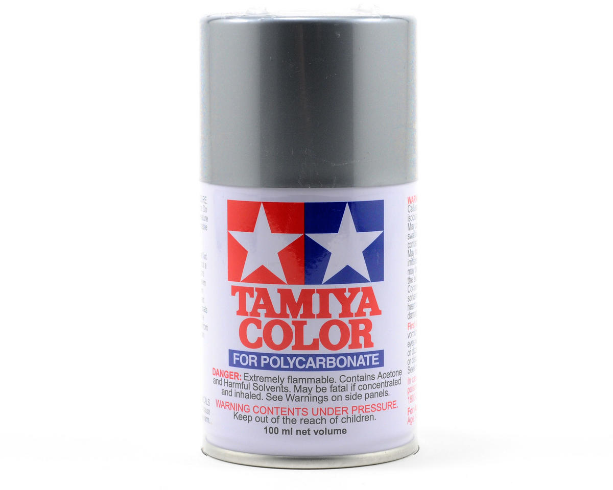 Tamiya PS-12 Silver Lexan Spray Paint (3oz)