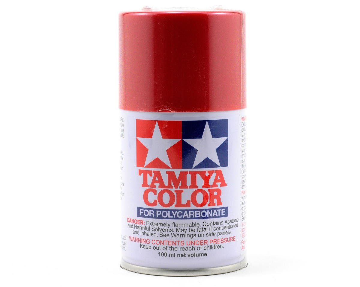 Tamiya Ps 15 Metallic Red Lexan Spray Paint 3oz Ebay
