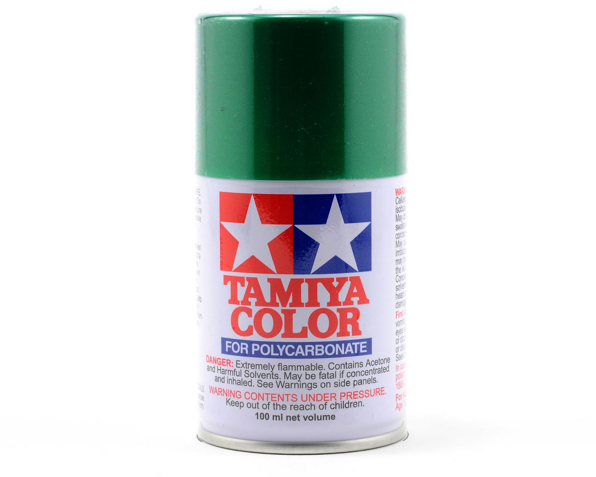 PS-17 Metallic Green Lexan Spray Paint (3oz) by Tamiya