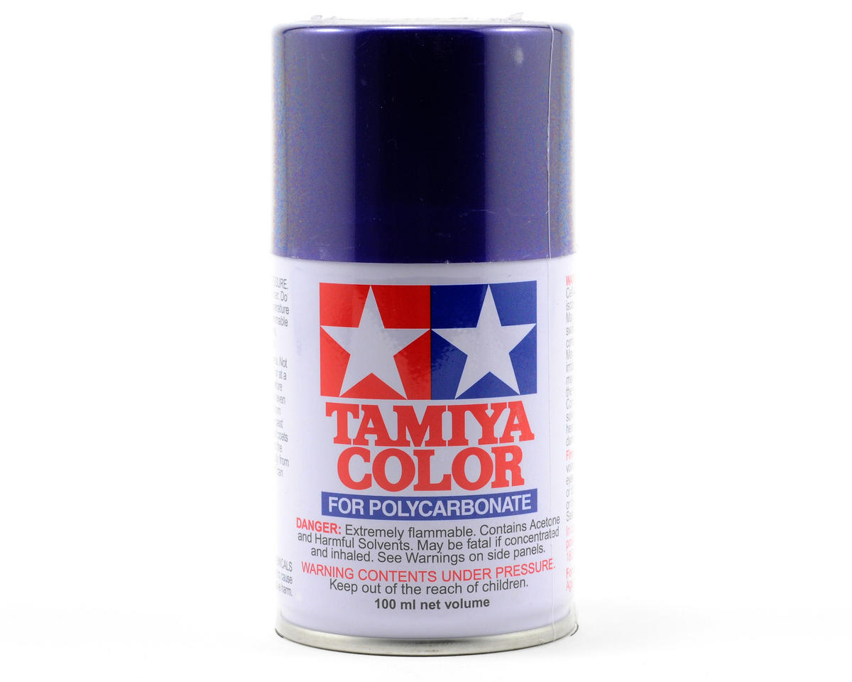 Tamiya PS-18 Metallic Purple Lexan Spray Paint (3oz)