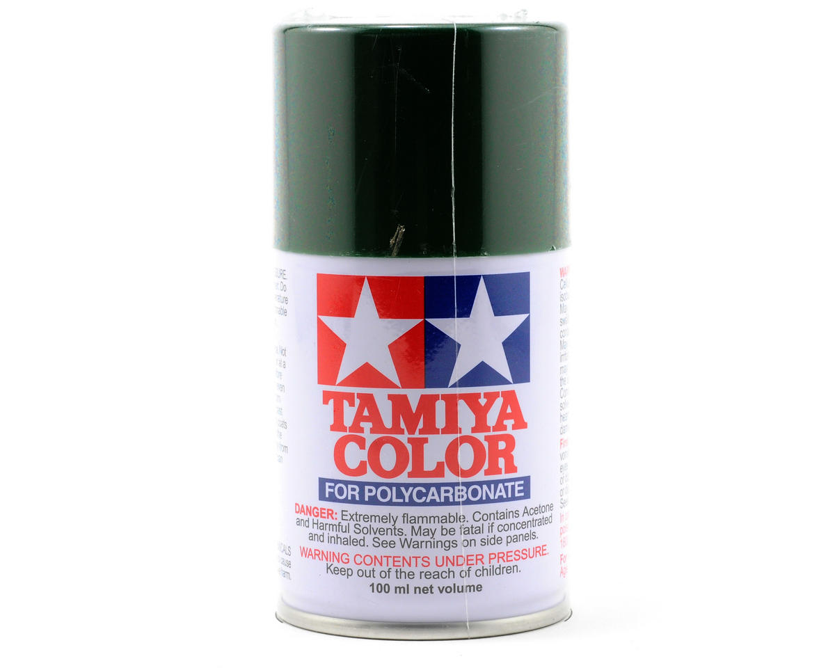 Tamiya PS-22 Racing Green Lexan Spray Paint (3oz)