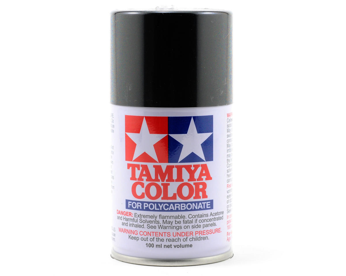 Tamiya PS-23 Gun Metal Lexan Spray Paint (3oz)