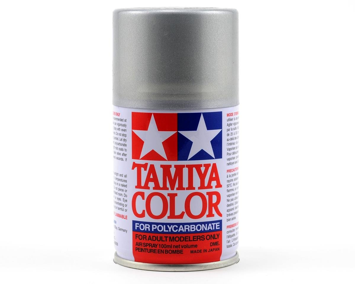 PS-36 Translucent Silver Lexan Spray Paint (3oz) by Tamiya
