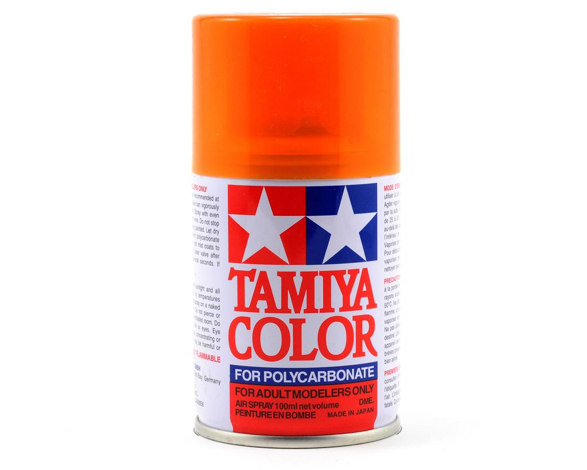 PS-43 Translucent Orange Lexan Spray Paint (3oz) by Tamiya
