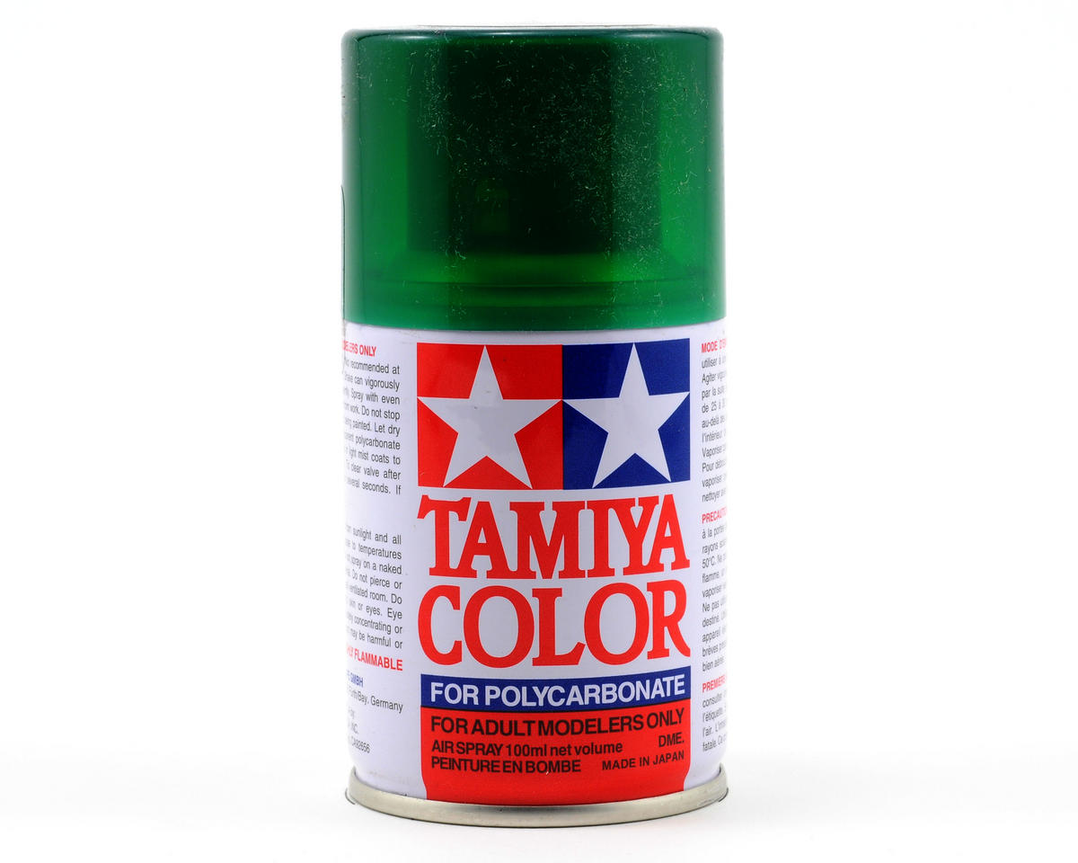 PS-44 Translucent Green Lexan Spray Paint (3oz) by Tamiya