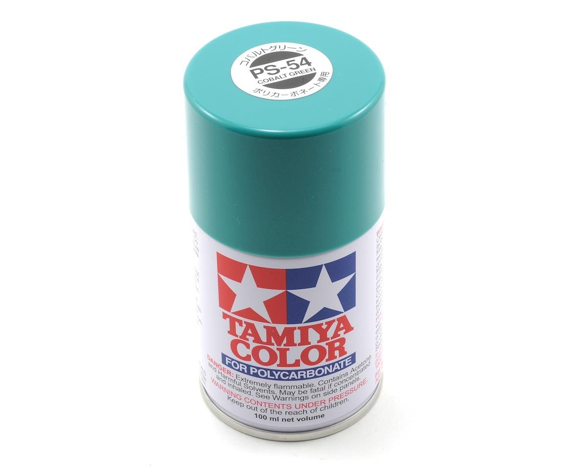 Tamiya PS-54 Cobalt Green Spray Paint (3oz)