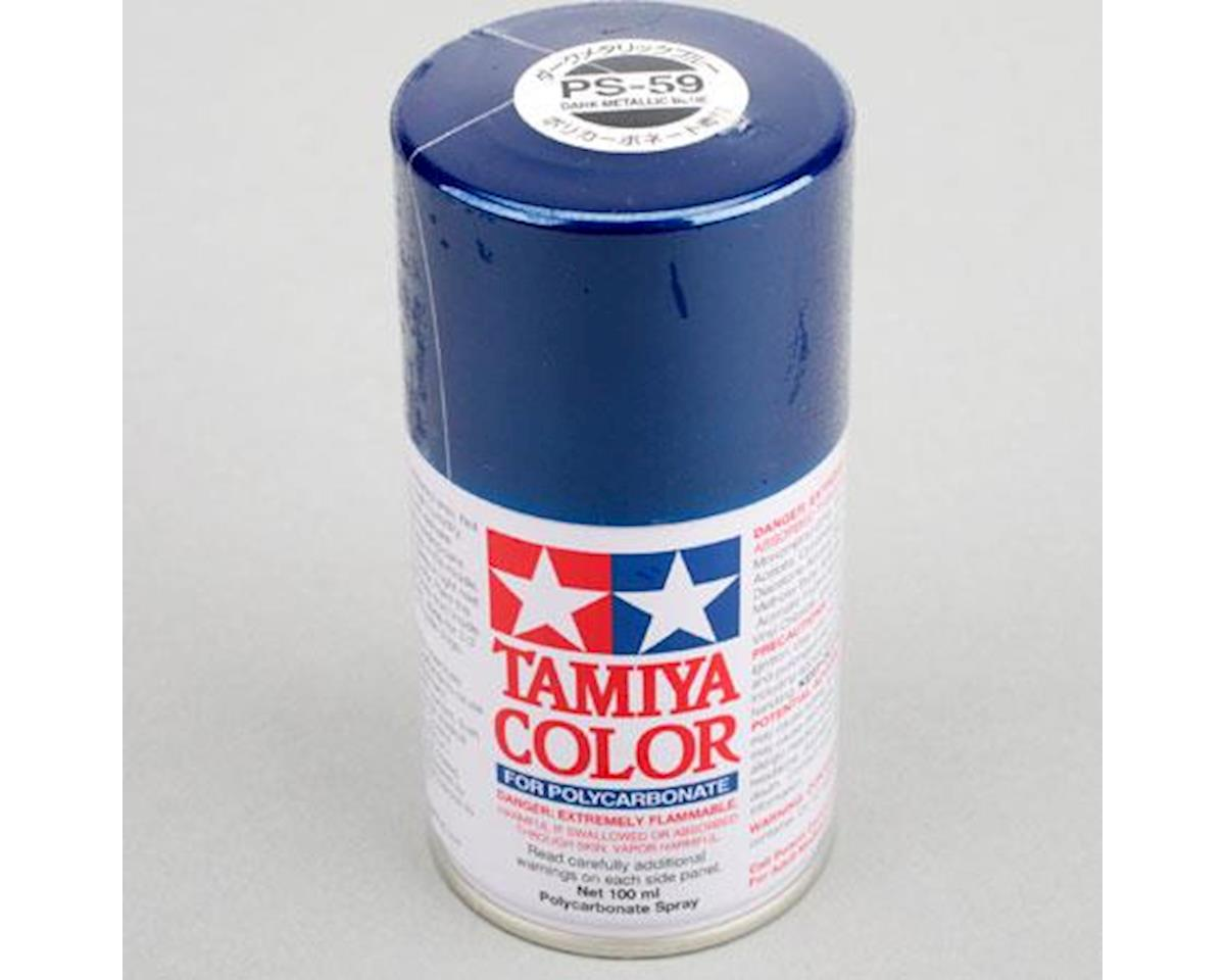 Tamiya Polycarbonate PS-59 Dark Metallic Blue, Spray 100 ml | alsopurchased