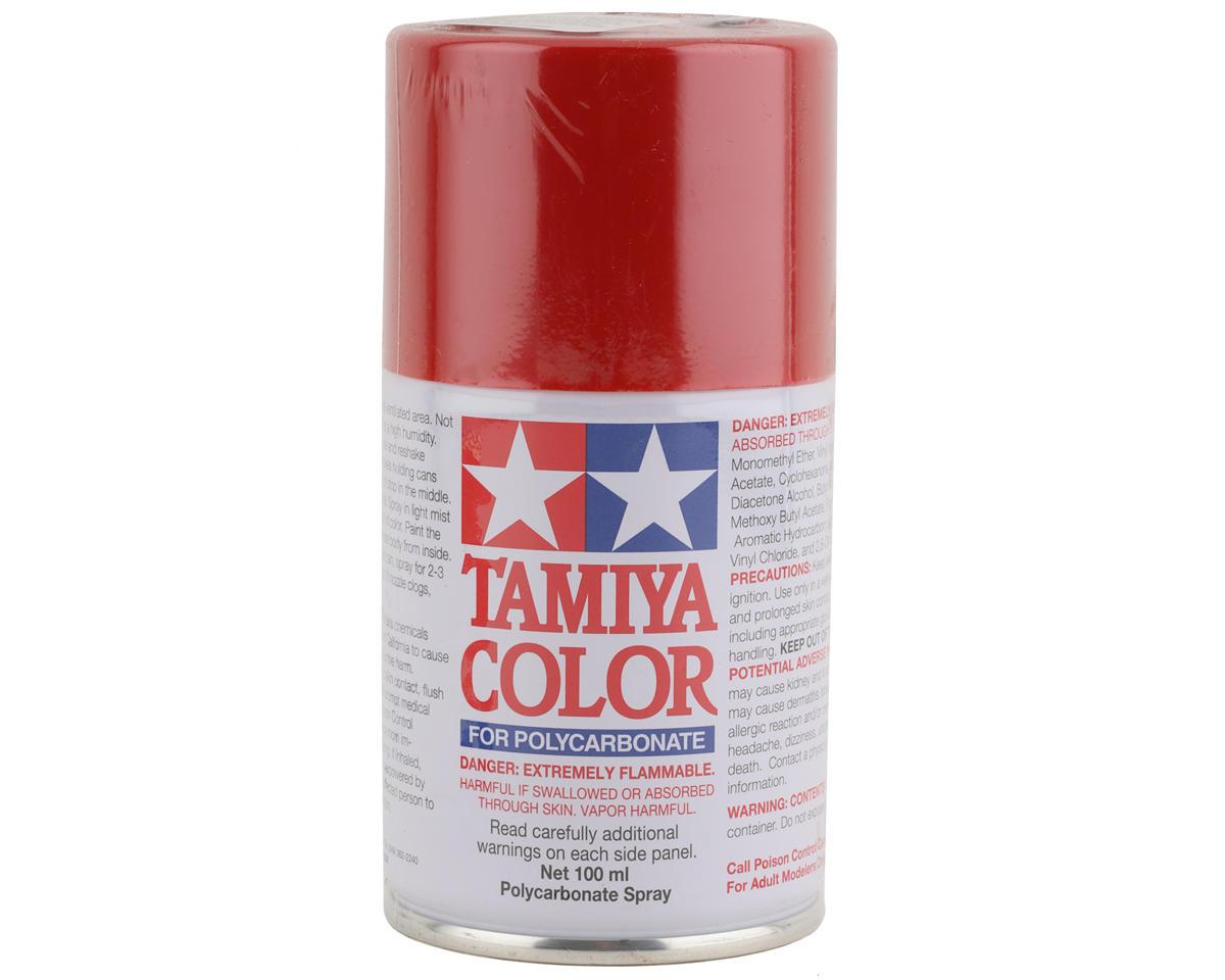 Tamiya PS-60 Bright Mica Red Lexan Spray Paint (100ml) TAM86060