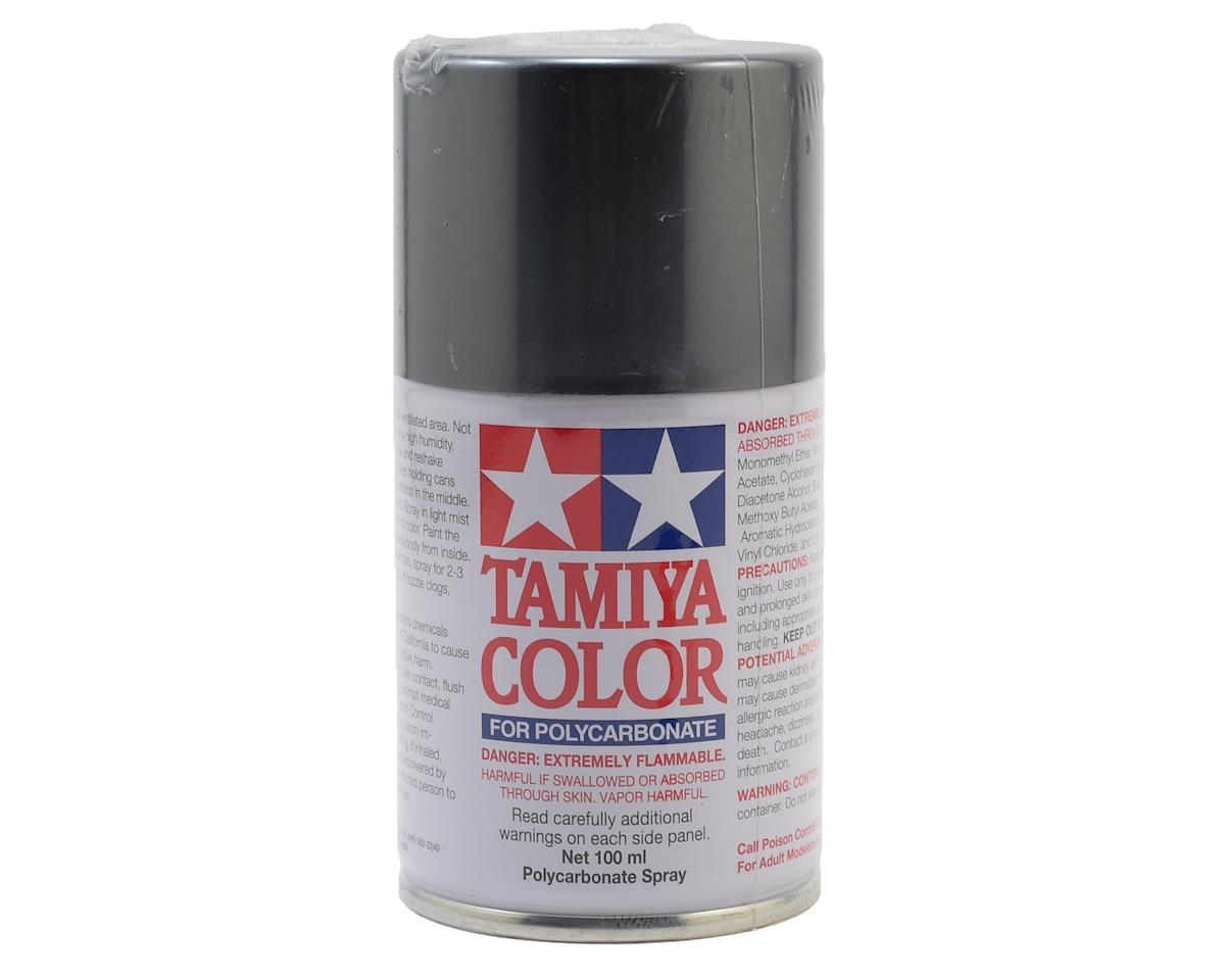 Tamiya PS-63 Bright Gun Metal Lexan Spray Paint (3oz) [TAM86063]   Cars &  Trucks