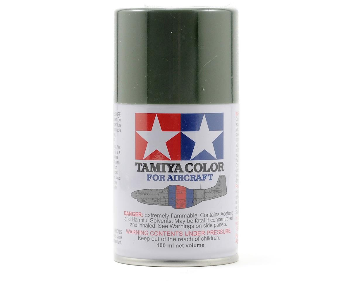 Tamiya AS-3 Gray Green Aircraft Lacquer Spray Paint (100ml) (LUFTWAFFE)