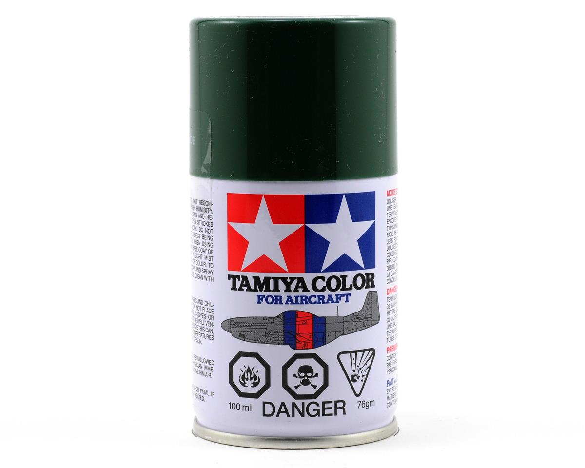 Tamiya AS-17 Dark Green Aircraft Lacquer Spray Paint (100ml) (IJA)
