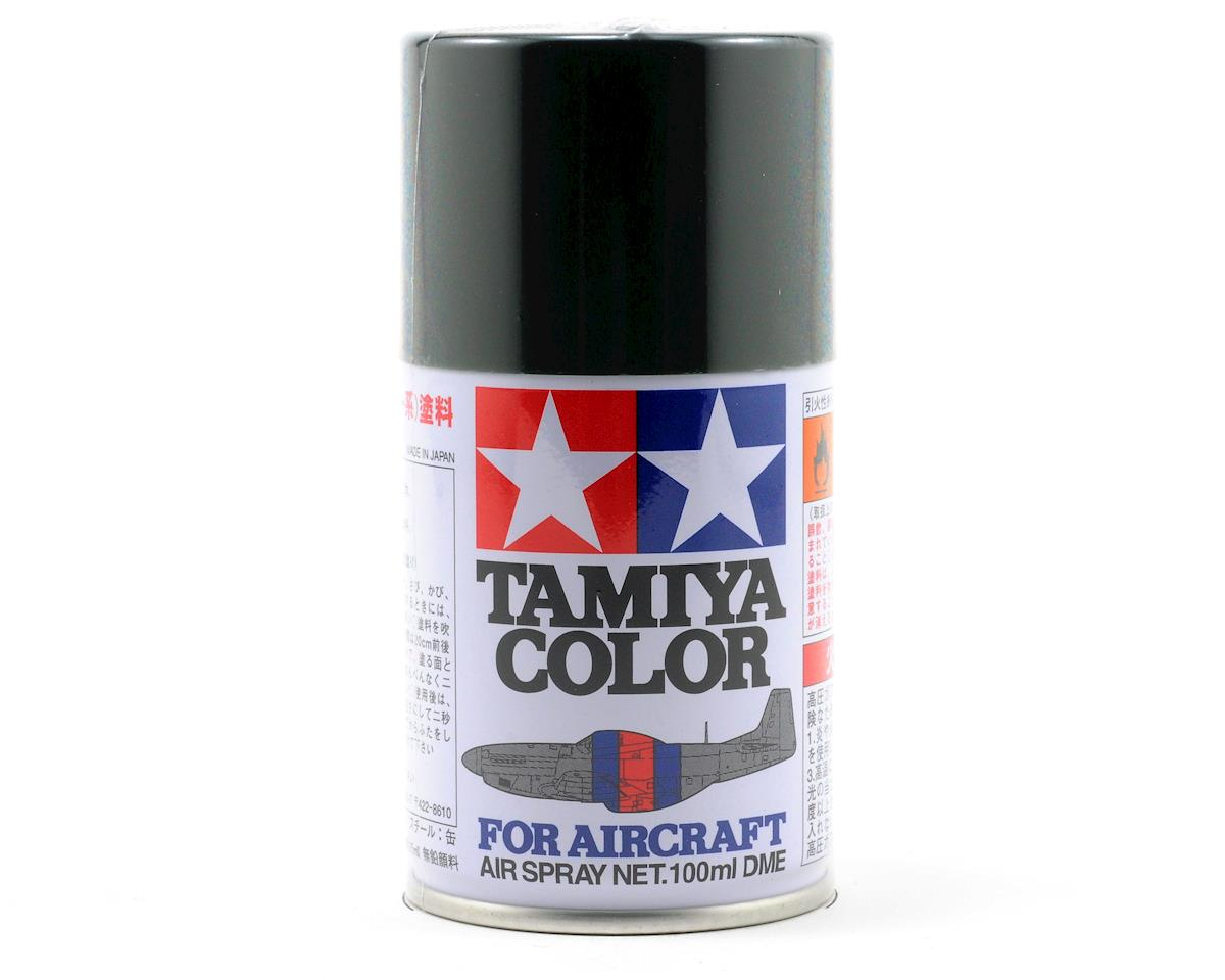 Tamiya AS-24 Dark Green Aircraft Lacquer Spray Paint (100ml) (German Air)