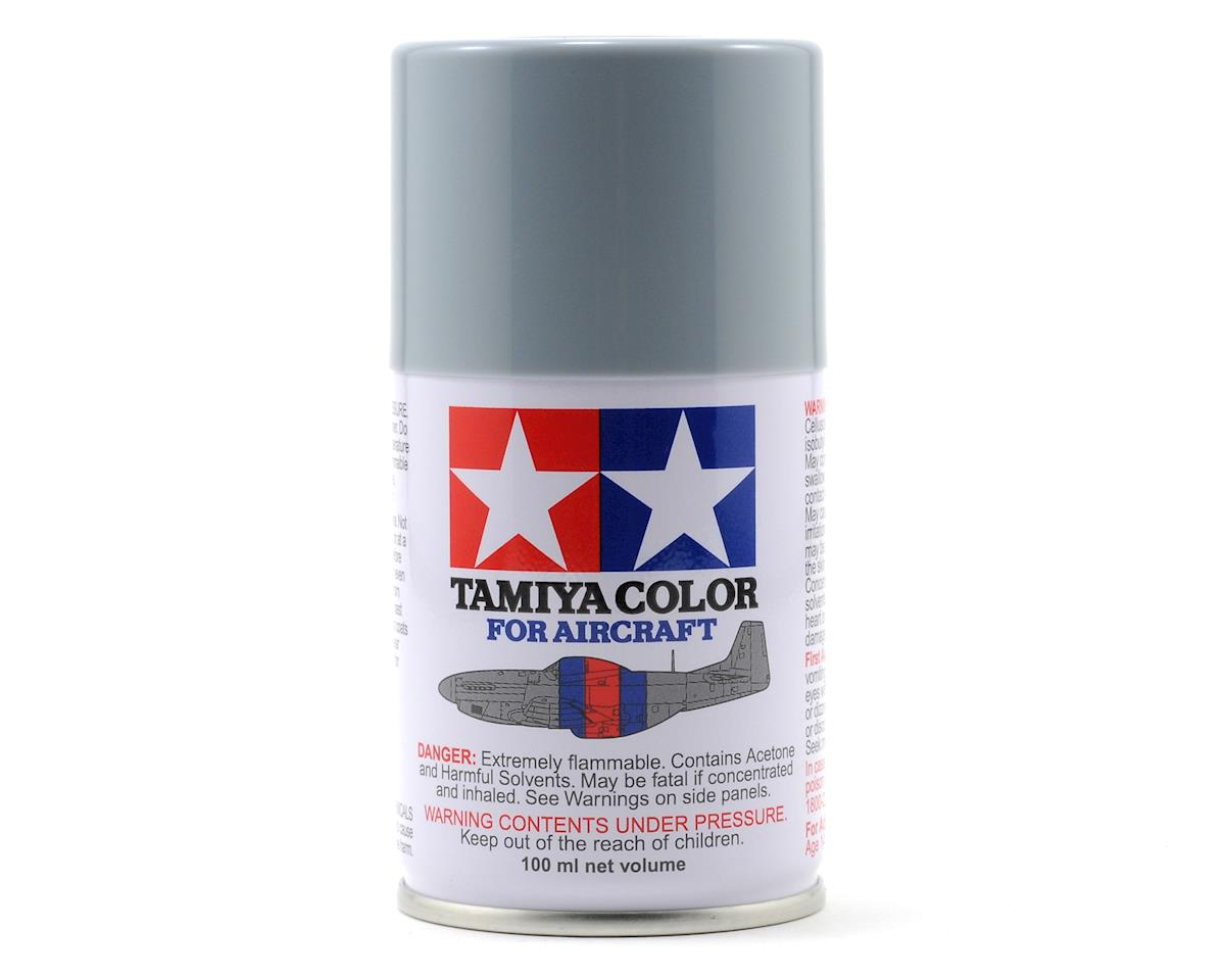 Tamiya AS-25 Dark Ghost Grey Aircraft Lacquer Spray Paint (100ml)