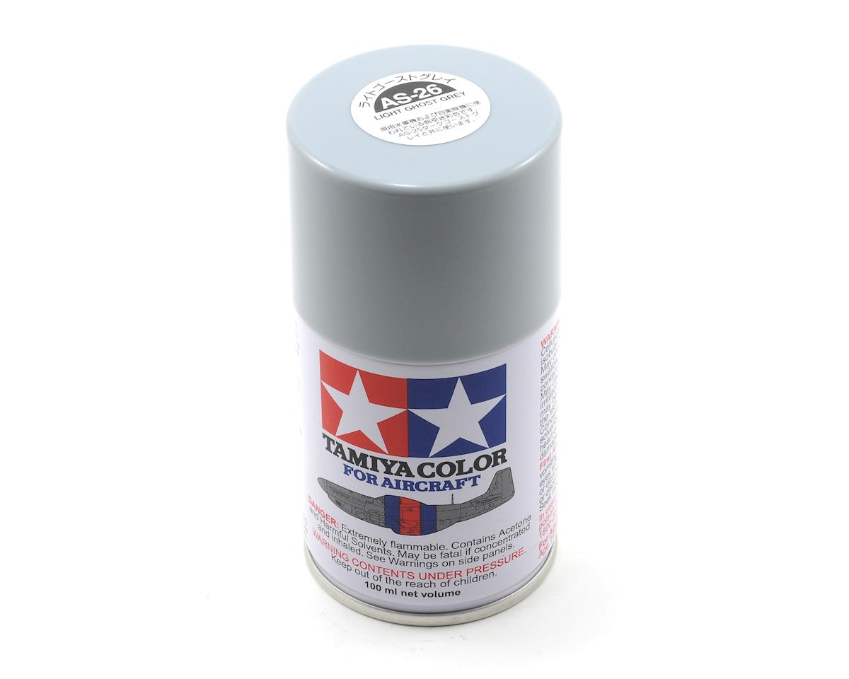 Tamiya AS-26 Light Ghost Grey Spray Paint (3oz)