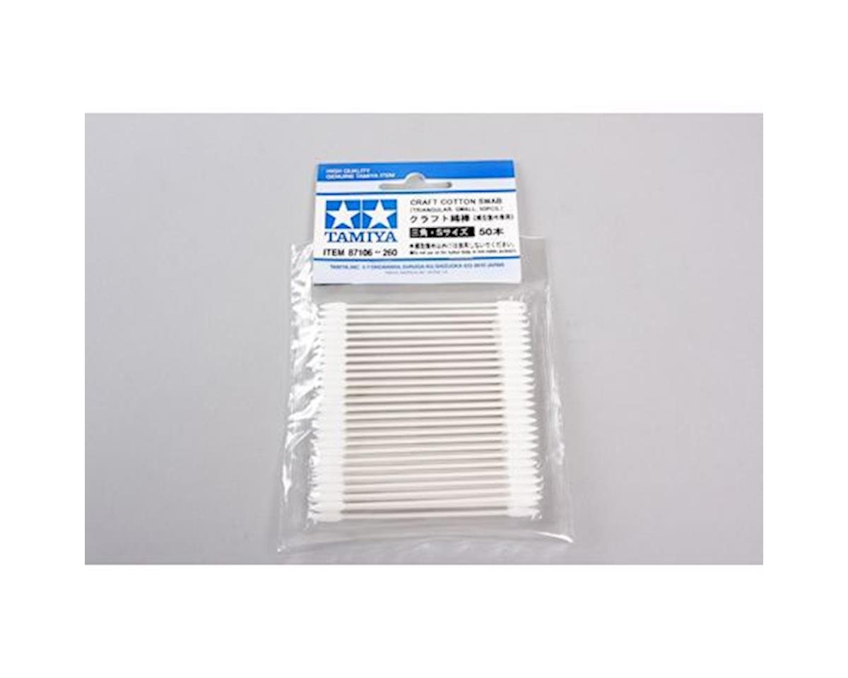 Craft Cotton Swab, Triangle Small 50pcs by Tamiya