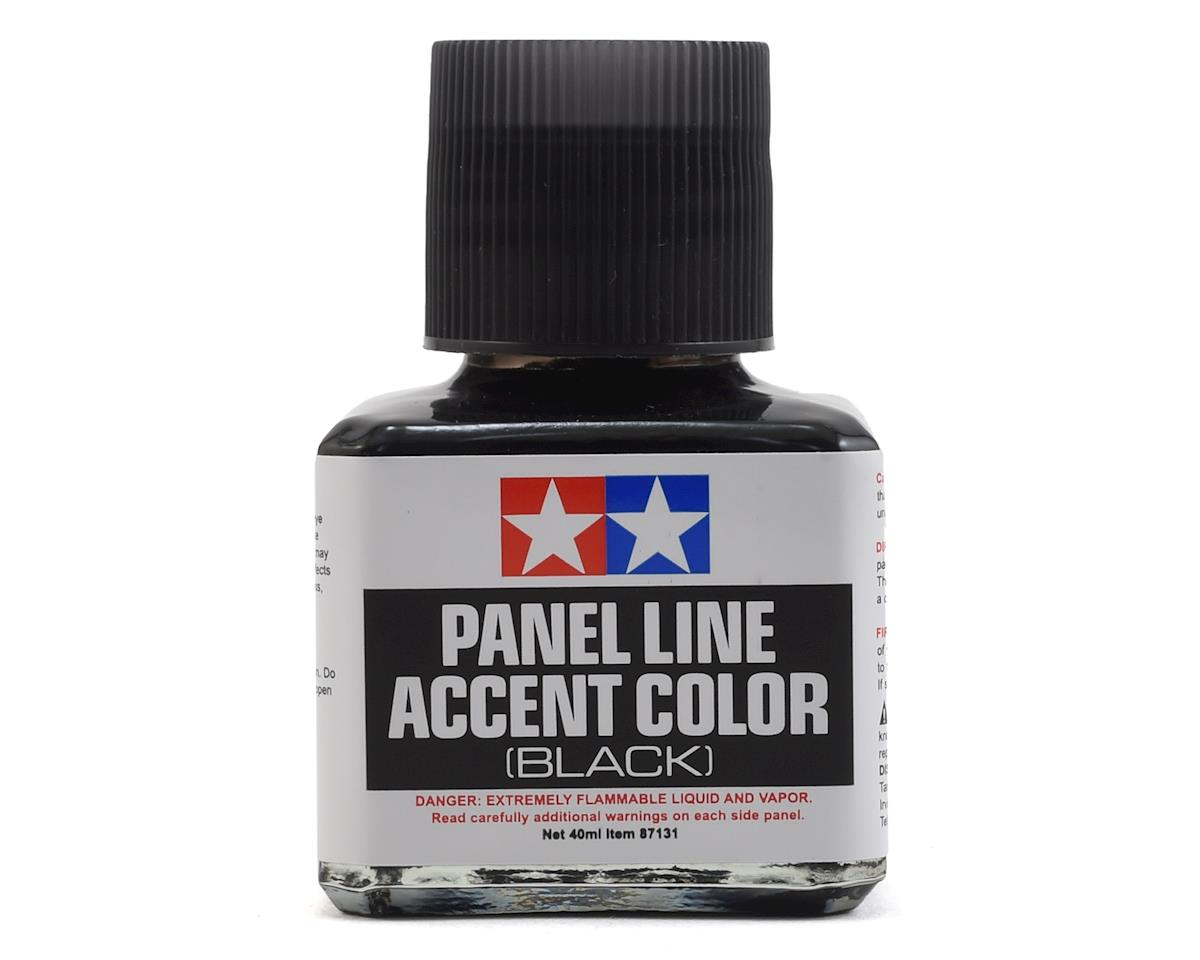 Panel Line Accent Color (40ml) (Black) by Tamiya