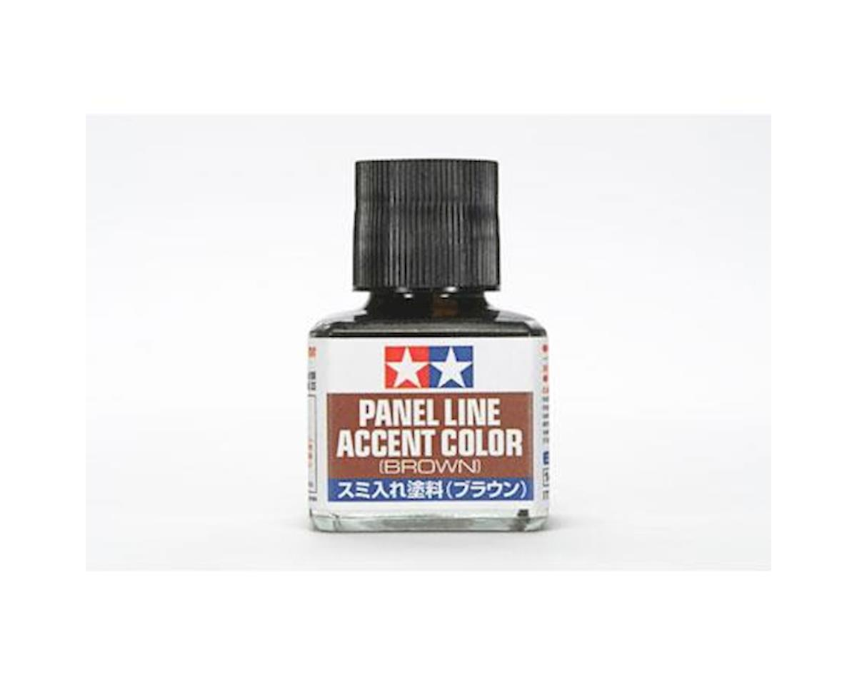 Tamiya Brown Panel Line Accent Color (40ml Bottle) (6/Bx)