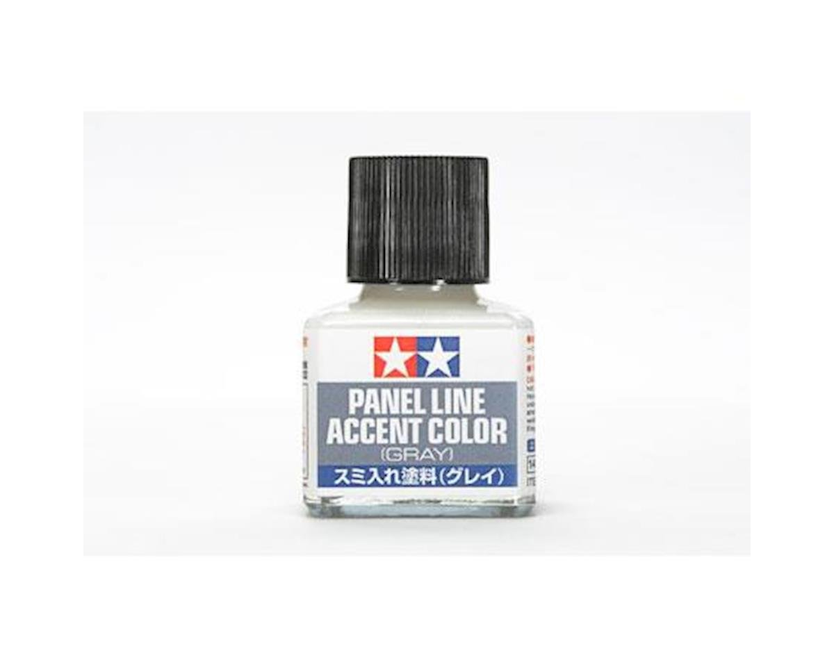 Panel Line Accent Color 40ml, Grey by Tamiya
