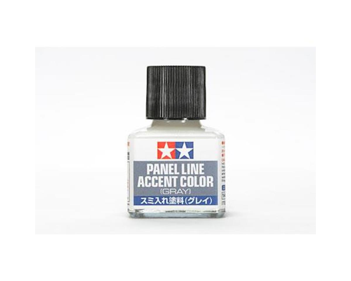 Tamiya Gray Panel Line Accent Color (40ml Bottle) (6/Bx)