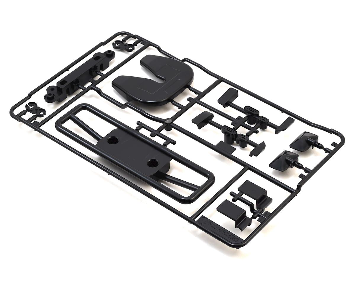 Tamiya Grill & Mirror Set (Black) (H Parts)