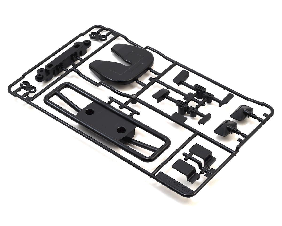 Tamiya Grill & Mirror Set (Black) (H Parts)