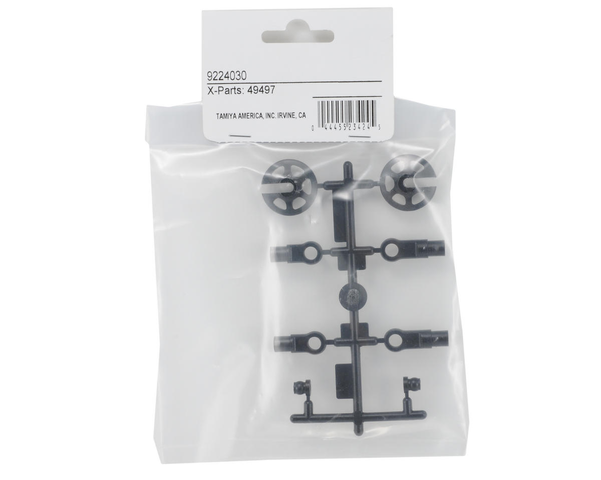 Tamiya Shock Rod End/Spring Cup Set (X Parts)