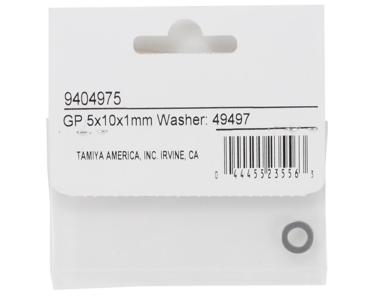 Tamiya 5x10x1mm Washer