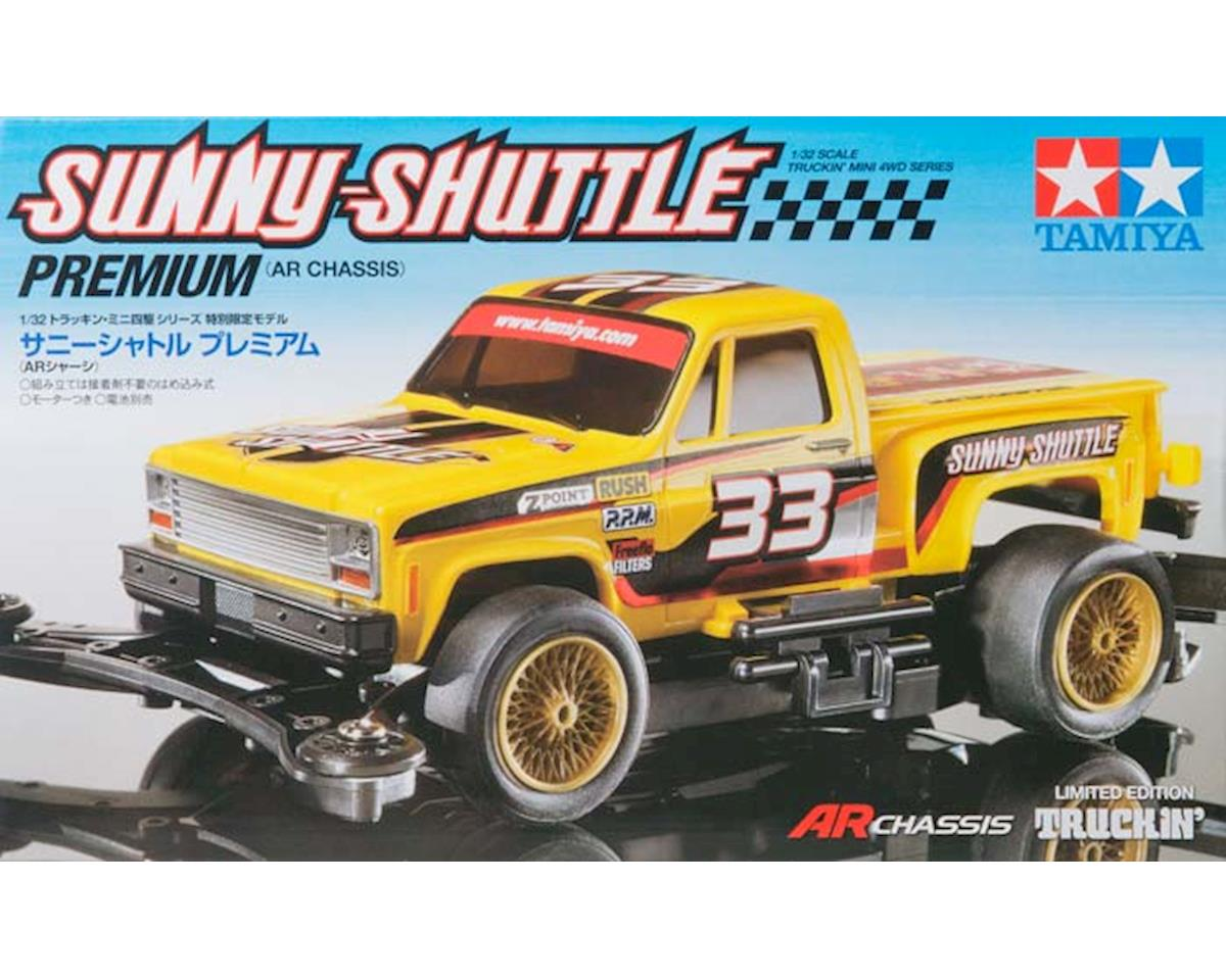 Tamiya 1/32 JR Sunny-Shuttle AR Chassis Mini 4WD Kit