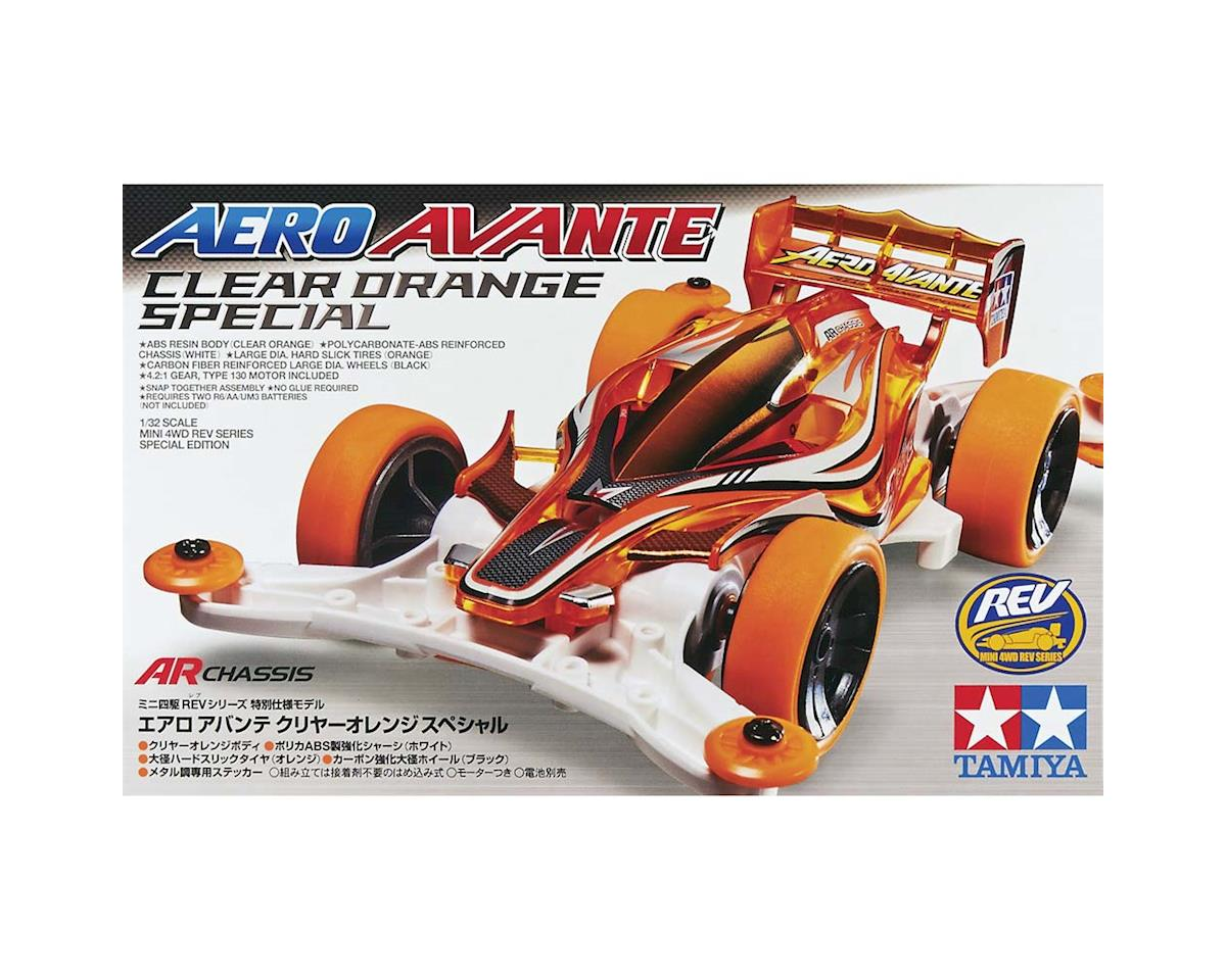 Tamiya Aero Avante Orange Special Mini 4WD Model Kit