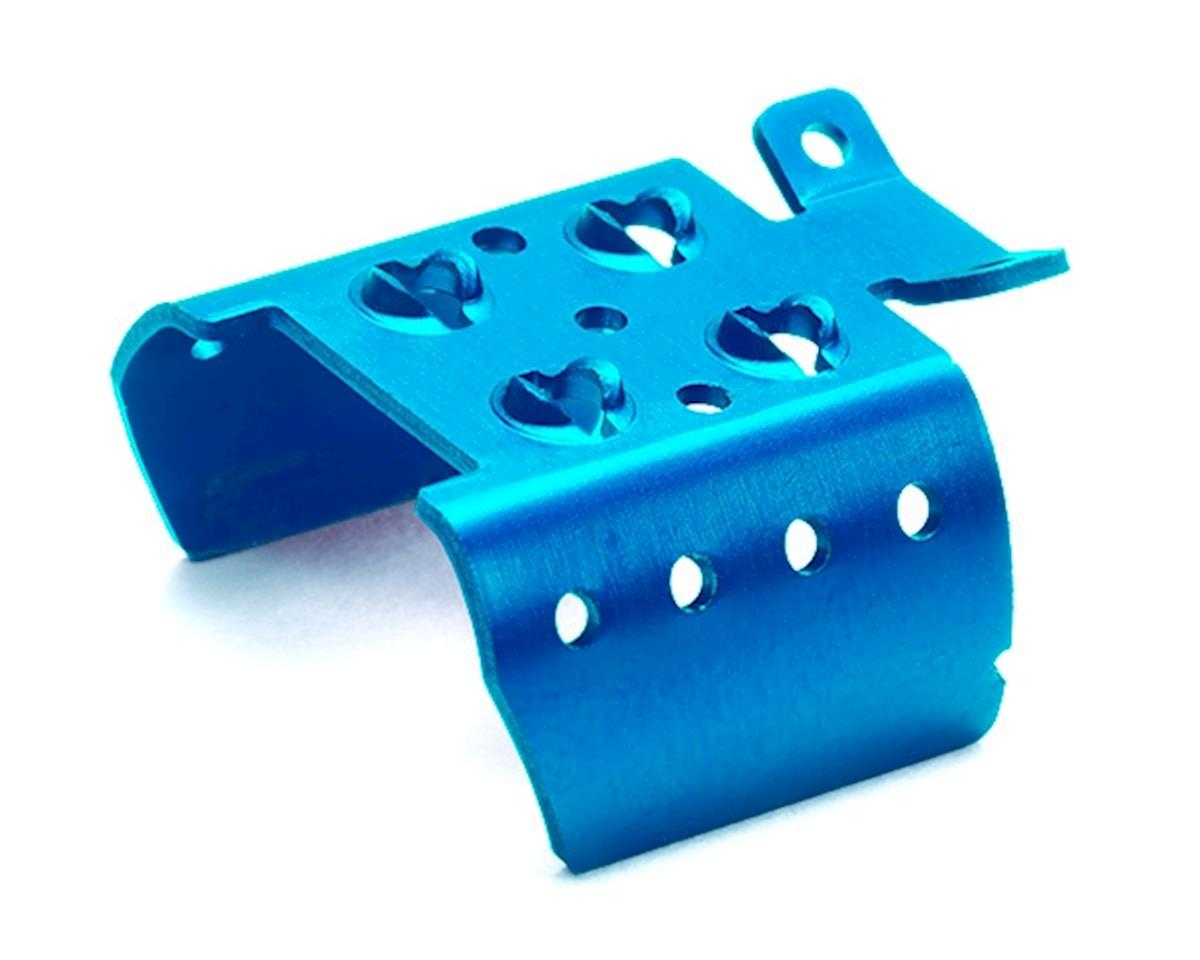 Tamiya JR Motor Cooling Shield (Blue)