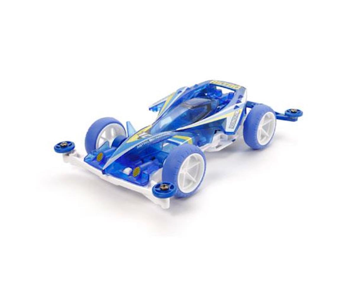 JR Astro-Boomerang Clear Blue SuperII Chassis by Tamiya