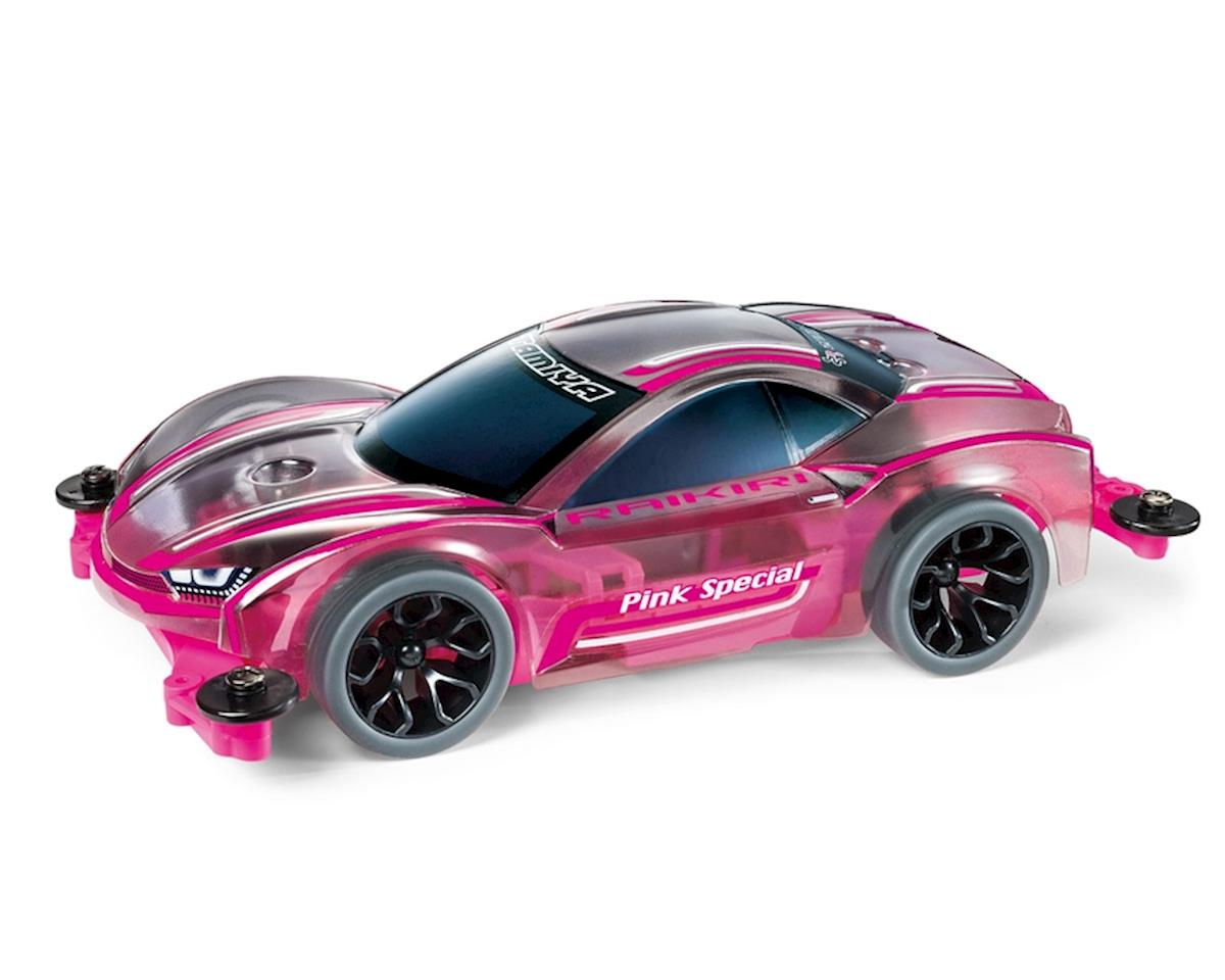 Tamiya 1/32 JR Raikiri Pink Special Edition MS Chassis Mini 4WD Kit