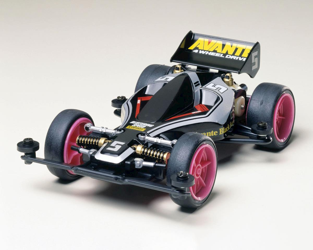 Tamiya 1/32 JR Avante Black Special Edition Type 2 Chassis Mini 4WD Kit