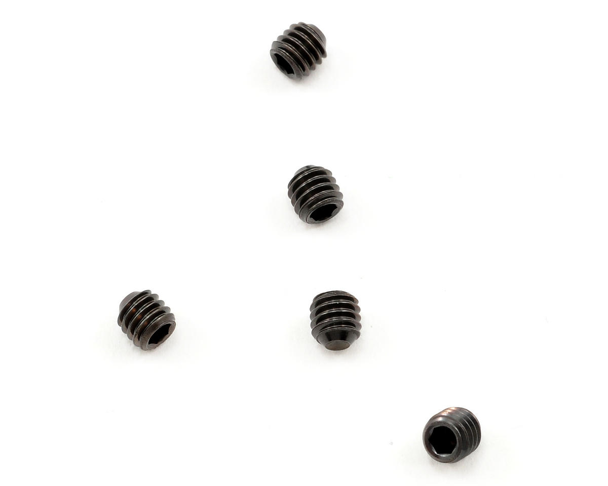 Tamiya 4x4mm Grub Screw (5)