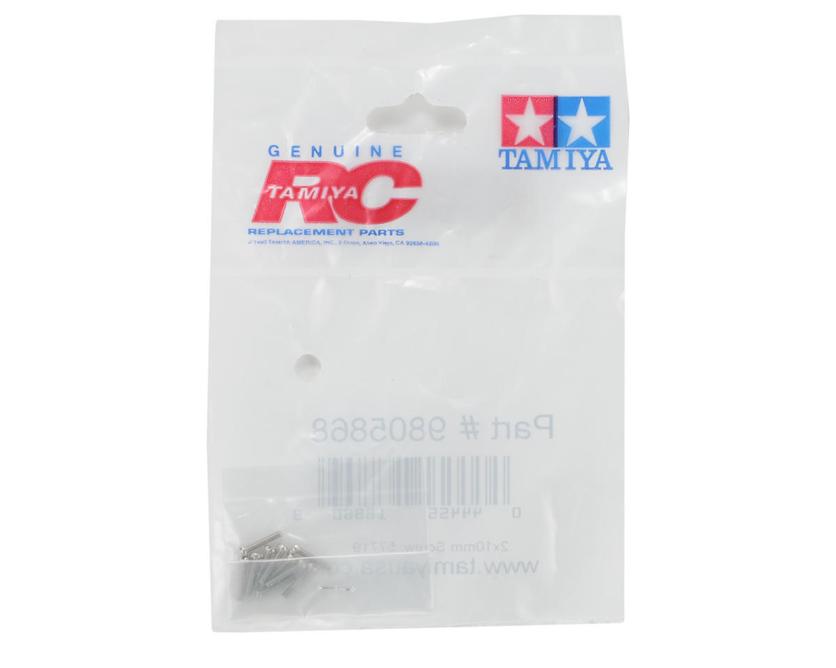 Tamiya 2x10mm Screw (10)