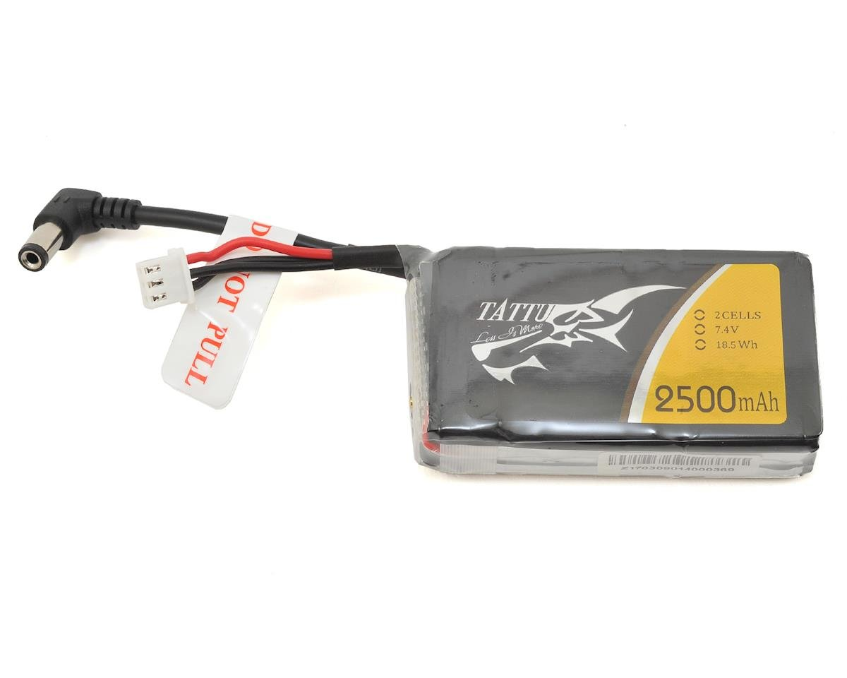 Tattu FatShark Goggle 2s LiPo Battery Pack 30C (7.4V/2500mAh)