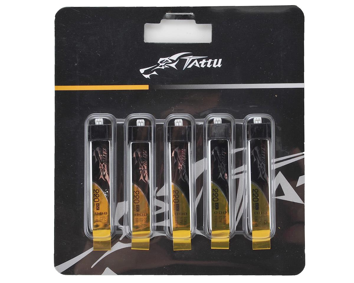 Tattu 1S LiPo Battery 45C (3.7V/220mAh) (5)
