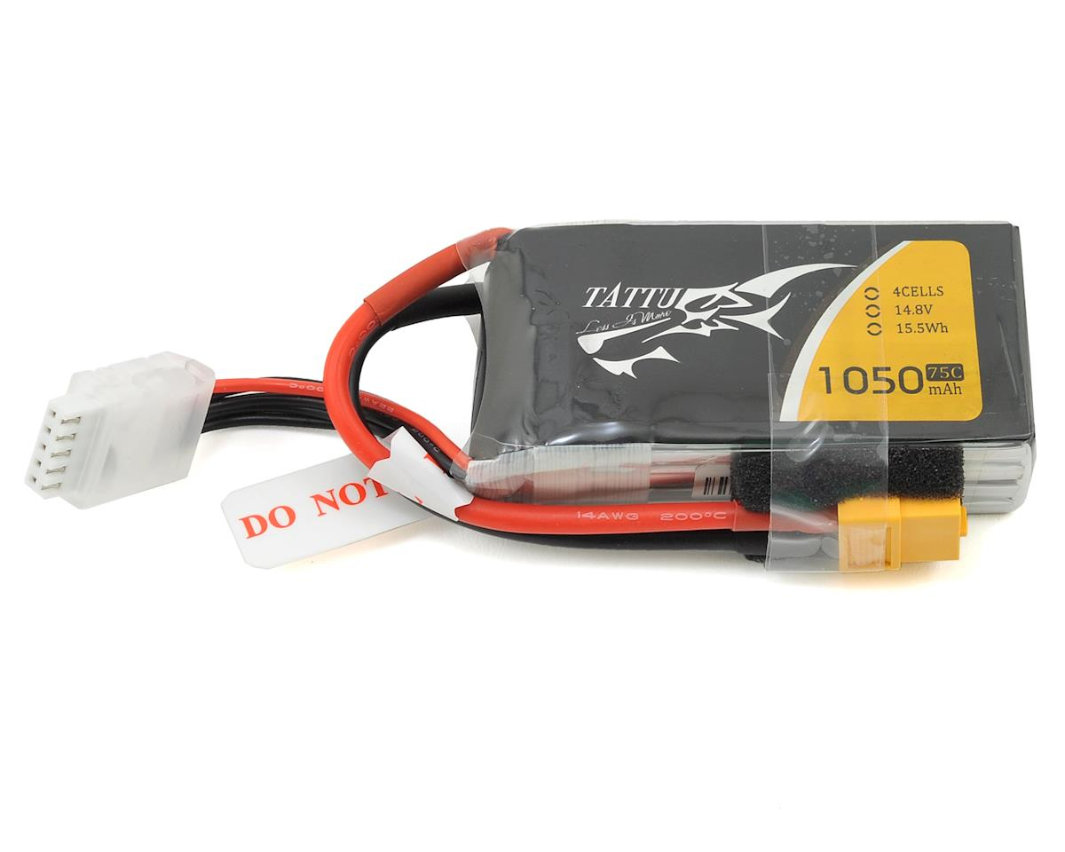 4s LiPo Battery Pack 75C (14.8V/1050mAh) by Tattu