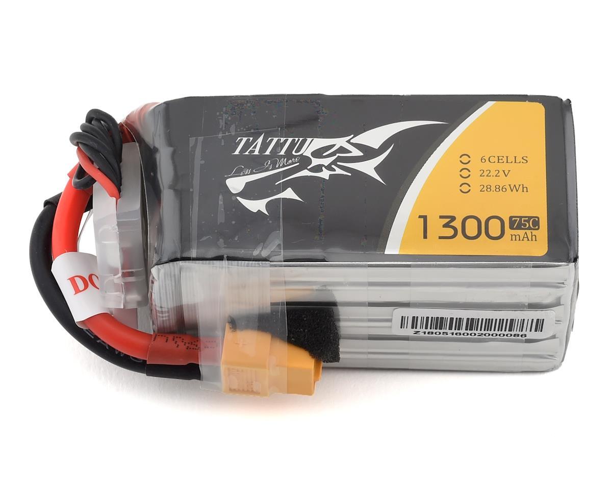 Tattu 6S LiPo Battery 75C (22.2V/1300mAh)