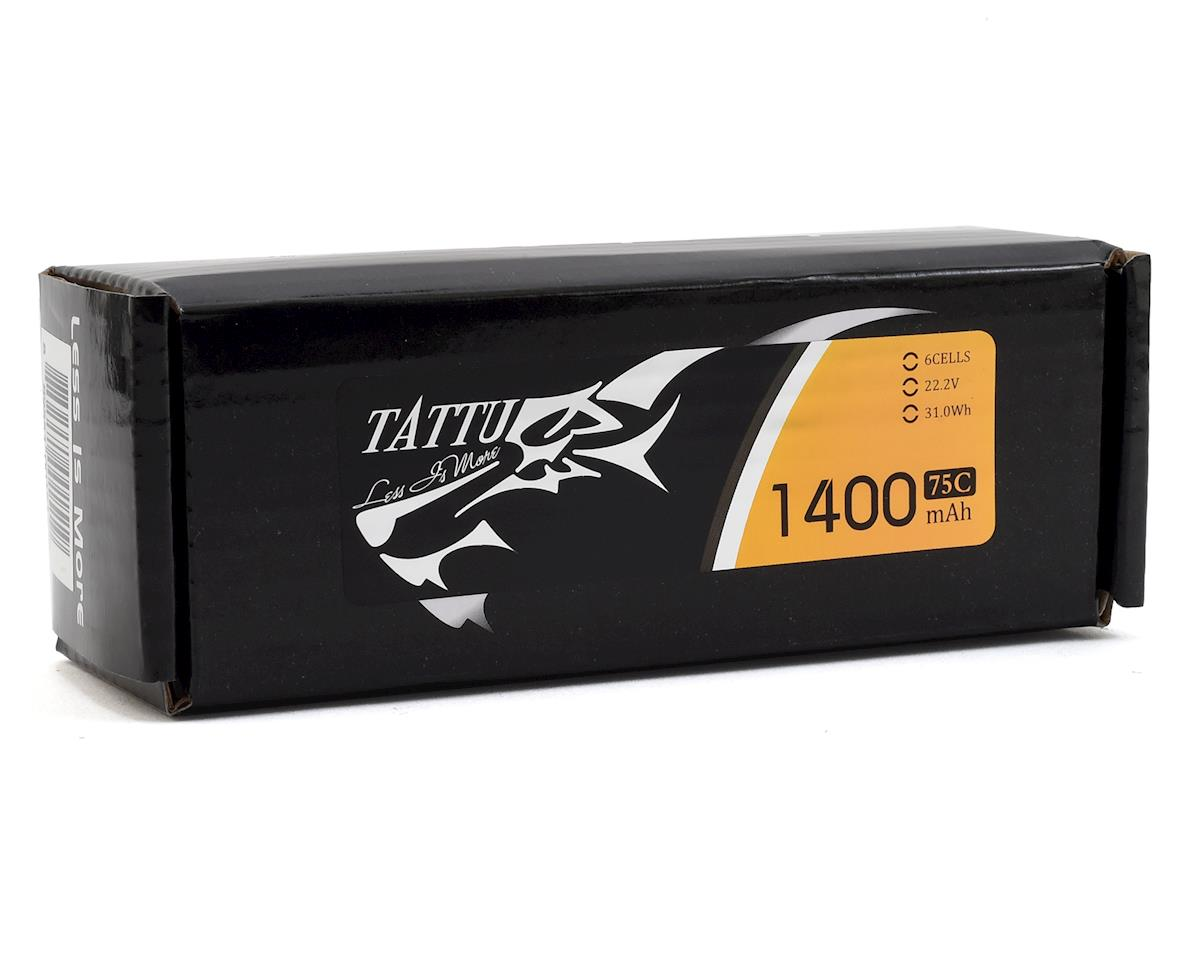 Tattu 6s LiPo Battery Pack 75C (22.2V/1400mAh)