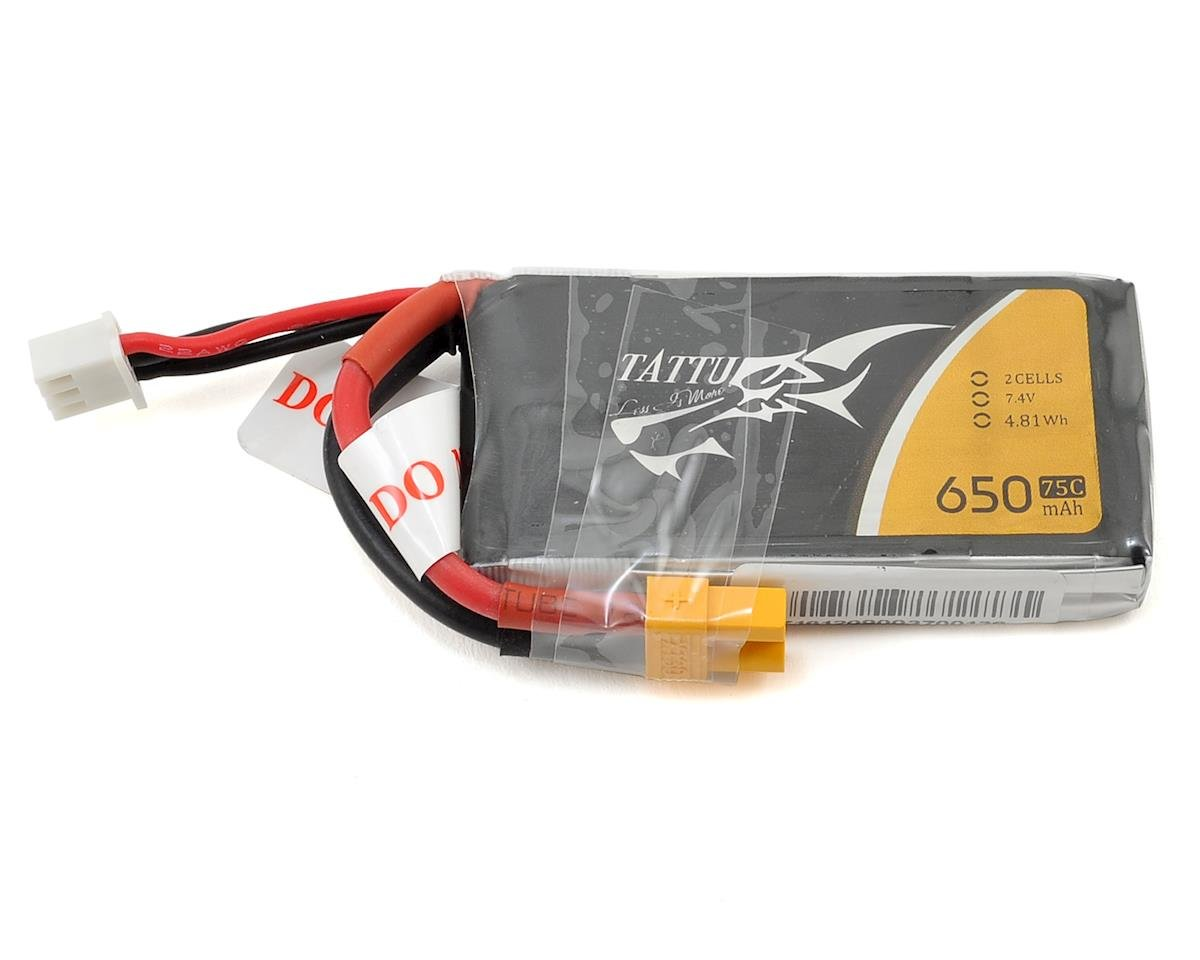 2s LiPo Battery Pack 75C (7.4V/650mAh)