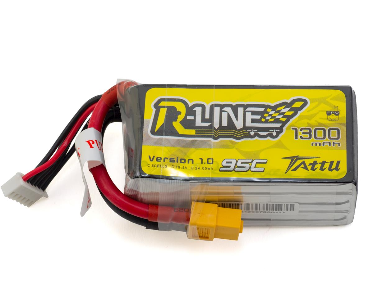 "Tattu ""RLine"" 5s LiPo Battery 95C (18.5V/1300mAh)"