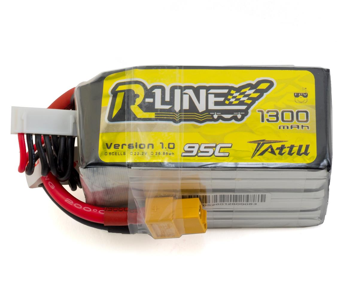 "Tattu ""RLine"" 6s LiPo Battery 95C (22.2V/1300mAh)"