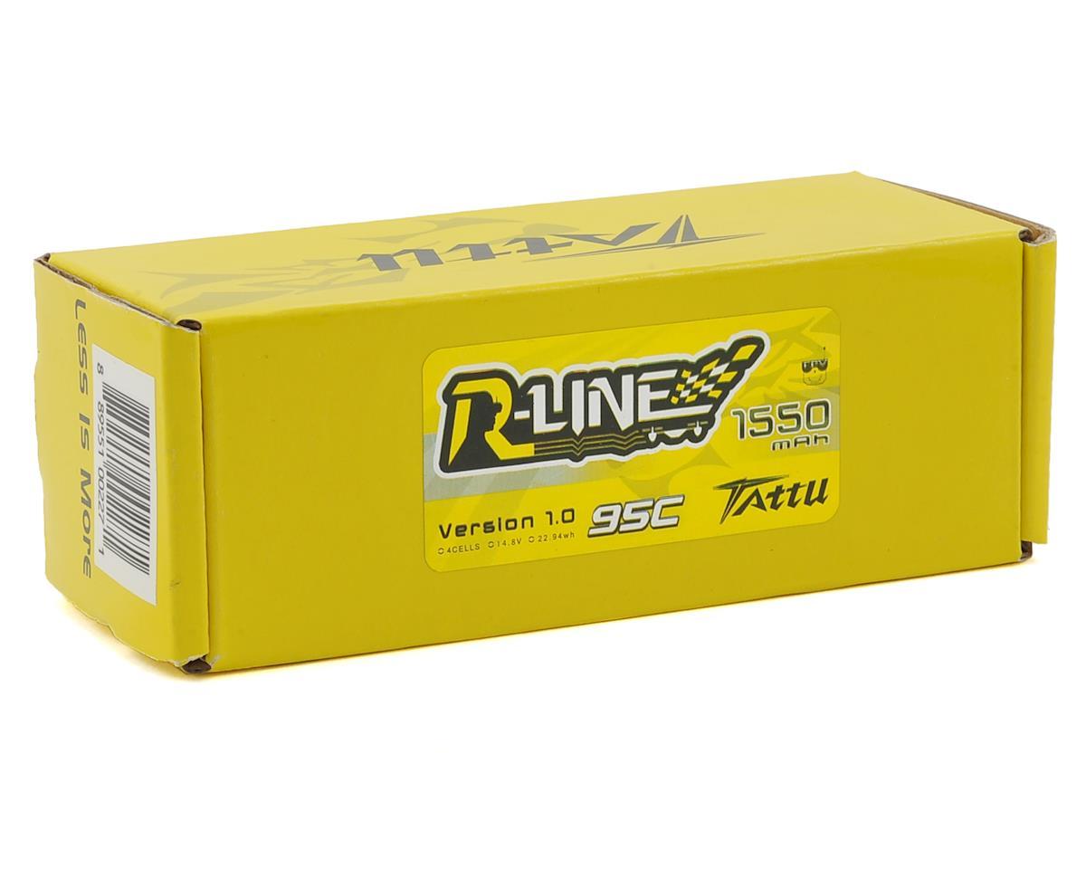 "Tattu ""R-Line"" 4S LiPo Battery 95C (14.8V/1550mAh) (JST-XH)"