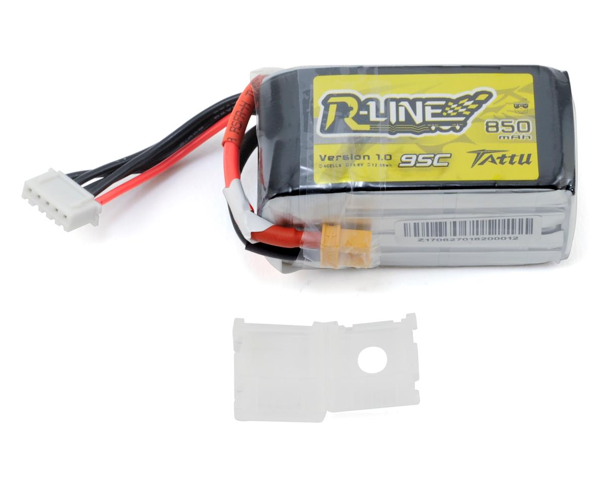 """RLine"" 4s LiPo Battery Pack 95C (14.8V/850mAh) by Tattu"