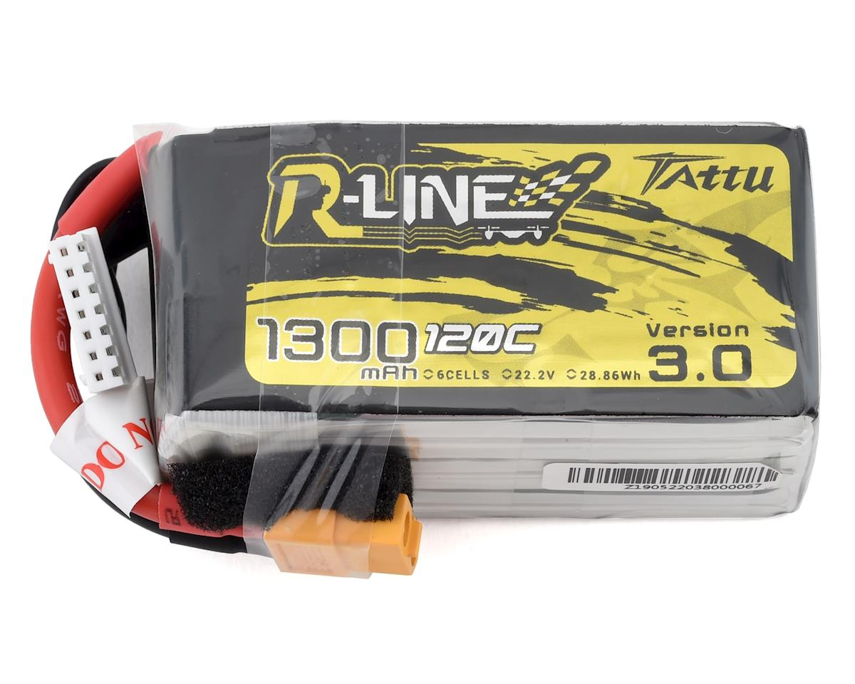 "Tattu ""R-Line 3.0"" 6S LiPo battery 120C (22.2V/1300mAh) 