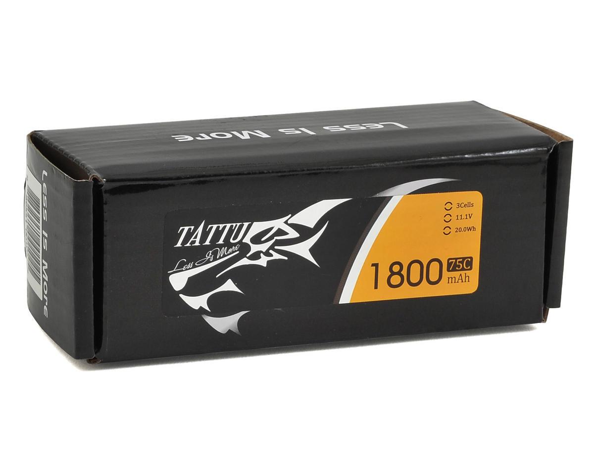 Tattu 3S LiPo Battery 75C (11.1V/1800mAh) (JST-XH)