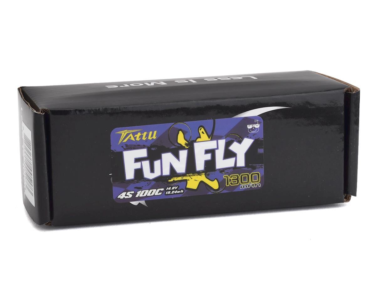 Tattu FunFly 4S LiPo Battery 100C (14.8V/1300mAh) (JST-XH)