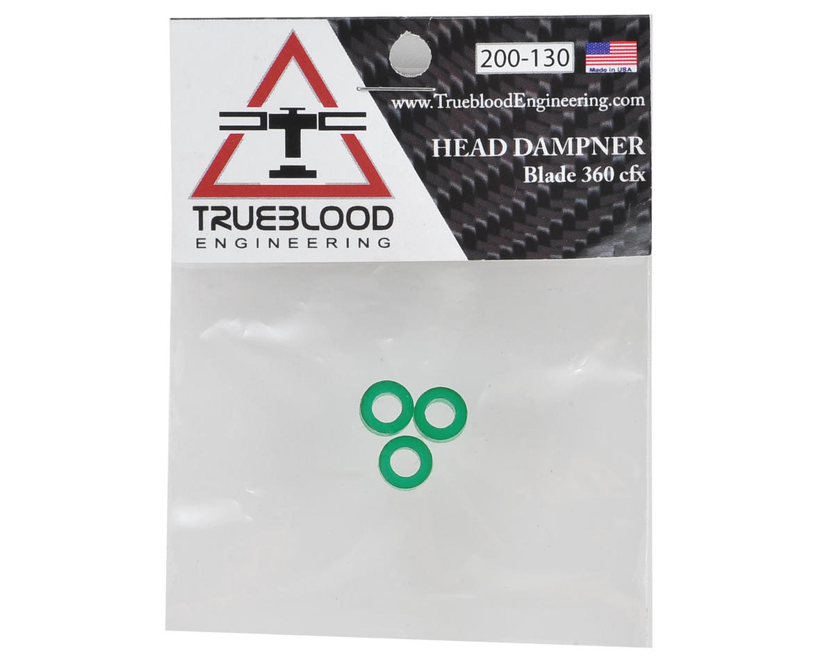Trueblood Engineering Blade 360 CFX Green Head Dampers